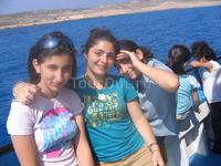Смешные Иорданки с серийской кровью и мамой-хохлушкой. Водная экскурсия к берегам Фамагусты из Айа-Напы на кораблике.