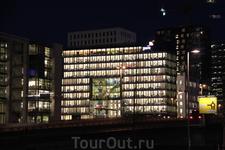 Осло ночью