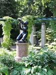 Скульптура. Их вообще в парке много, и рассматривать их можно часами
