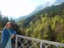 На мосту Марии любуюсь Альпами