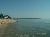 пляж в Обзоре
