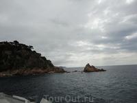 Вид на море из порта