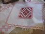 Один из образцов вышивки