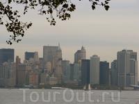 Манхэттен с острова Свободы