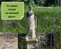 Статуя женщины на раскопках святилища Изиды в г.Дион