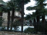 Небольшая итальянская деревня Грассоббио рядом с Бергамо.