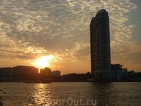 Фантастичные закаты на Чао Прай
