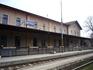 Железнодорожная станция в Нитре