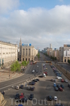 вид из отеля МДМ (Варшава)