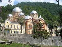 г. Новый Афон, монастырь