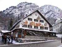 Отель в городке Фуссен