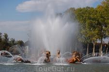 фонтан в Версальском саду