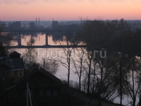 Раннее утро на реке Тверце
