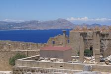 Акрополь Линдоса, второй по величине после афинского
