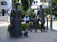 Памятник Чехову, Ялта