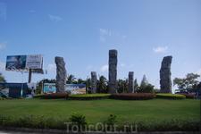 на пути в Ялуньвань из Саньи