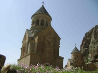 12 августа 2009. монастырь Нораванк.