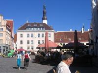 Площадь перед Tallinn Town Hall. Сердце старого города.