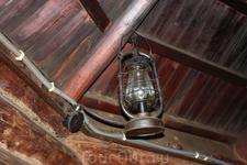 Керосииновая лампа в Колыбе