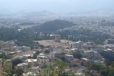 Вид на Афины с Пантеона