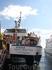 кораблик на котором мы прибыли в Tossu