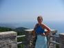 Вид на Адлер с башни Ахун. Наверное нет человека, кто бы побывав в Сочи не побывал бы на этой башне..