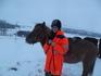 Я каталась на самом спокойном коне с очень сложным исландским именем