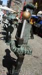 """Знаменитая скульптура Лунделла """"Уличный оркестр"""". Колонну возглавляет барабанщик"""