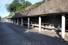 Китайское кладбище. Захоронения детей.