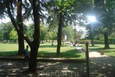 Городской парк в Тиране