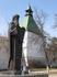 Памятник основателю Лавры Сергию Радонежскому