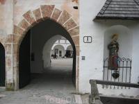 Вход в замок Schloss Ort