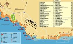 Карта бухт Шарм эль Шейха