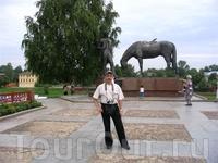 Памятник поэту Баратынскому