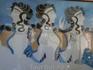 Критские женщины того времени были красивы и ухожены. Гид нам рассказывала, что при ракопках были найдены щипчики для бровей!