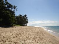 Обратная сторона острова пляж Балабог (Bulabog Beach)