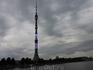 Высота Останкинской телебашни составляет 540 метров, что делает ее 8-ой в мире по высоте. На небе собрались тучи, да и дело идет к вечеру, а потому в башне ...