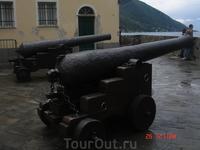 французские пушки