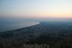 Вид с храма Юпитера на Террачину