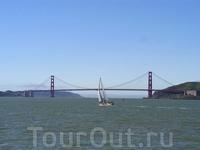 Golden Gate Bridge - самый известный мост в мире!