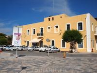 Здание полиции в Иерапетре...