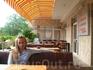 Веранда ресторана отеля Обзор Сити