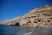 Матала. Пещеры, мелкий песочек и чистеишее теплое Ливийское море.