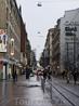Конец января, а украшения в Хельсинки до сих пор висят