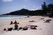 Хаад Рин самый известный пляж Ко Паньяна место проведение знаменитых Фуул Муун пати