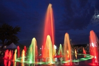 Светомузыкальный фонтан Петровский