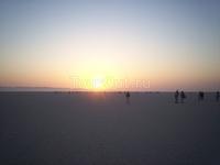 Встречаем рассвет над соленым озером
