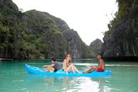 на лодке по островам