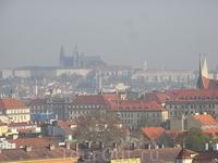 Вышеград вид на Прагу 8