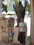 Около храма Николая Чудотворца